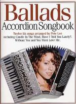 Accordion Songbook Ballads Sheet Music