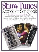 Accordion Songbook Show Tunes Sheet Music