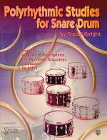 Polyrhythmic Studies for Snare Drum Sheet Music