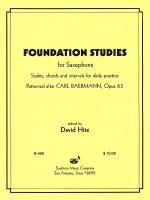Foundation Studies Sheet Music