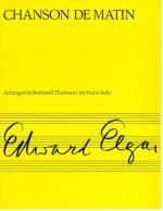 Elgar: Chanson De Matin Sheet Music