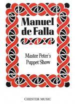 De Falla: El Retablo De Maese Pedro Sheet Music