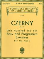 110 Easy And Progressive Exercises For Piano Op.453 Sheet Music