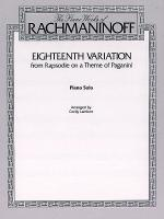 Eighteenth Variation Sheet Music
