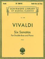Six Sonatas For Double Bass And Piano Sheet Music
