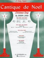 Cantique De Noel (Organ) Sheet Music