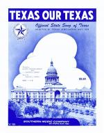 Texas, Our Texas Sheet Music