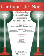 Cantique De Noel (O Holy Night) Sheet Music