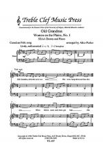 Old Grandma Sheet Music