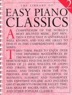 Library Of Easy Piano Classics 2 Sheet Music