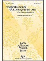 5 Folksongs From Haiti Sheet Music