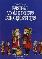 Easiest Violin Duets For Christmas: Book Two Sheet Music