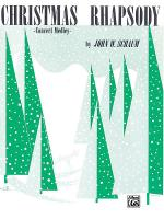 Christmas Rhapsody: Concert Medley Sheet Music