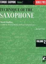 Technique Of The Saxophone, Volume 2 Sheet Music