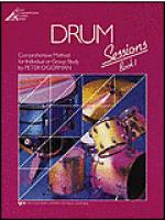 Drum Sessions-Book 1 with CD Sheet Music