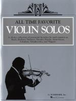 All Time Favourite Violin Solos Sheet Music