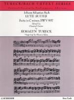 J.S. Bach: Suite In C Minor BWV 997 (Guitar) Sheet Music