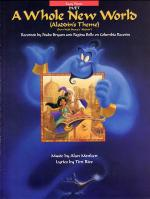 A Whole New World Easy Piano Sheet Music