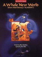 A Whole New World (Big Note Piano Edition) Sheet Music
