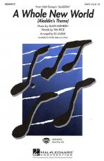A Whole New World (SATB) Sheet Music