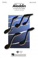 Aladdin (Medley) - SATB Sheet Music