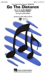 Go The Distance (SATB) Sheet Music