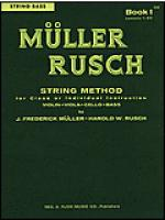 Muller-Rusch String Method Book 1-String Bass Sheet Music
