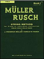 Muller-Rusch String Method Book 1-Viola Sheet Music