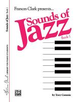 Sounds of Jazz, Book 1 Sheet Music