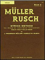 Muller-Rusch String Method Book 2-Cello Sheet Music