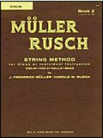 Muller-Rusch String Method Book 2-Violin Sheet Music