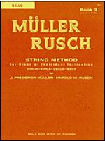 Muller-Rusch String Method Book 3-Cello Sheet Music