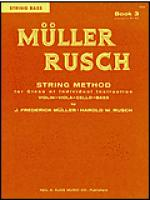 Muller-Rusch String Method Book 3-String Bass Sheet Music