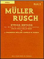 Muller-Rusch String Method Book 3-Viola Sheet Music