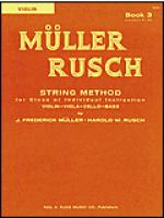Muller-Rusch String Method Book 3-Violin Sheet Music
