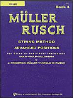 Muller-Rusch String Method Book 4-Cello Sheet Music
