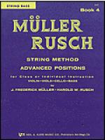 Muller-Rusch String Method Book 4-String Bass Sheet Music