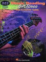 Musicians Institute: Essential Concepts - Music Reading For Bass Sheet Music