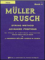 Muller-Rusch String Method Book 4-Viola Sheet Music