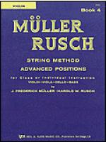 Muller-Rusch String Method Book 4-Violin Sheet Music