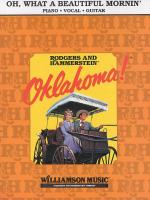 Rodgers And Hammerstein: Oh, What A Beautiful Morning (Oklahoma!)- PVG Sheet Music