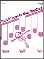 Quick Steps to Notereading, Vol 1, Cello Sheet Music