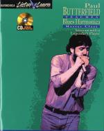 Paul Butterfield Teaches Blues Harmonica Sheet Music