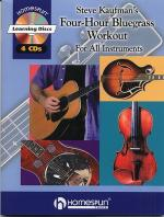 4 Hour Bluegrass Workout  Book/4 CDs Sheet Music