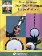 Steve Kaufman's Four-Hour Bluegrass Banjo Workout Sheet Music