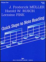 Quick Steps to Notereading, Vol 2, Violin Sheet Music