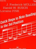 Quick Steps to Notereading, Vol 4, Violin Sheet Music
