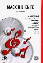 Mack the Knife - SATB Sheet Music