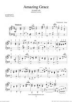 Amazing Grace (advanced version) Sheet Music