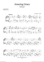 Amazing Grace (easy version) Sheet Music